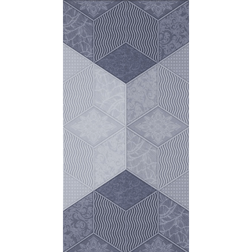 Декор Фадо син 25/50 5901