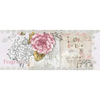 Декор Ажур роза 20/50 5836
